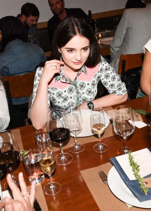 Aisling Franciosi - Bruna Papandrea's Made Up Stories Launch in New York
