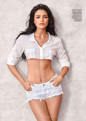 Aislinn Derbez - Esquire Mexico Magazine (March 2015)