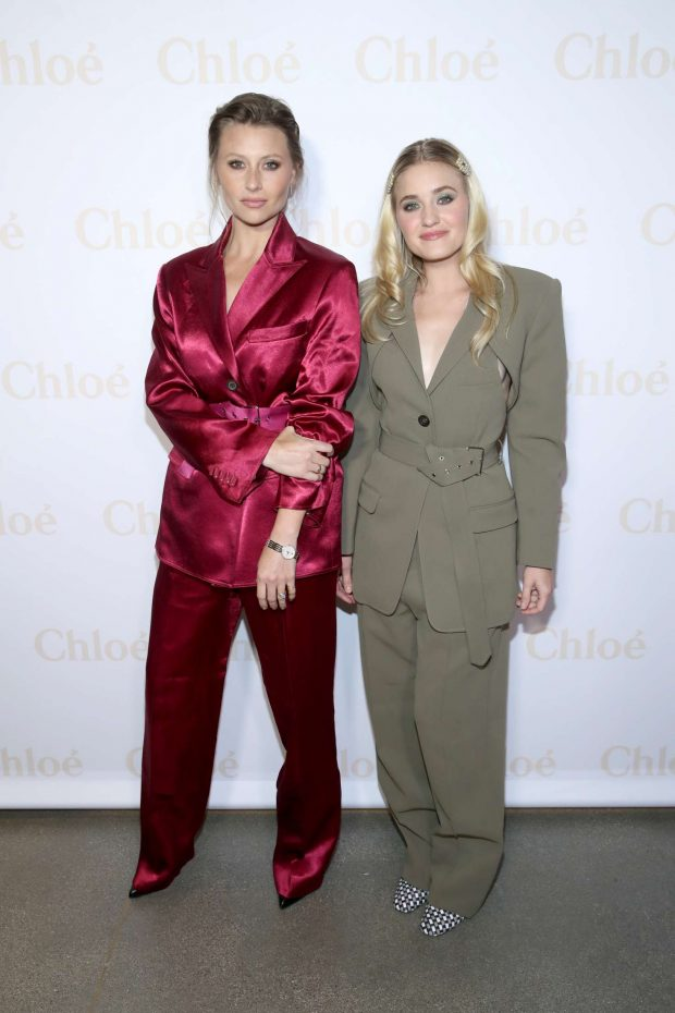 AJ and Aly Michalka - Flaunt And Chloe Celebrate A Change Of Seasons in West Hollywood