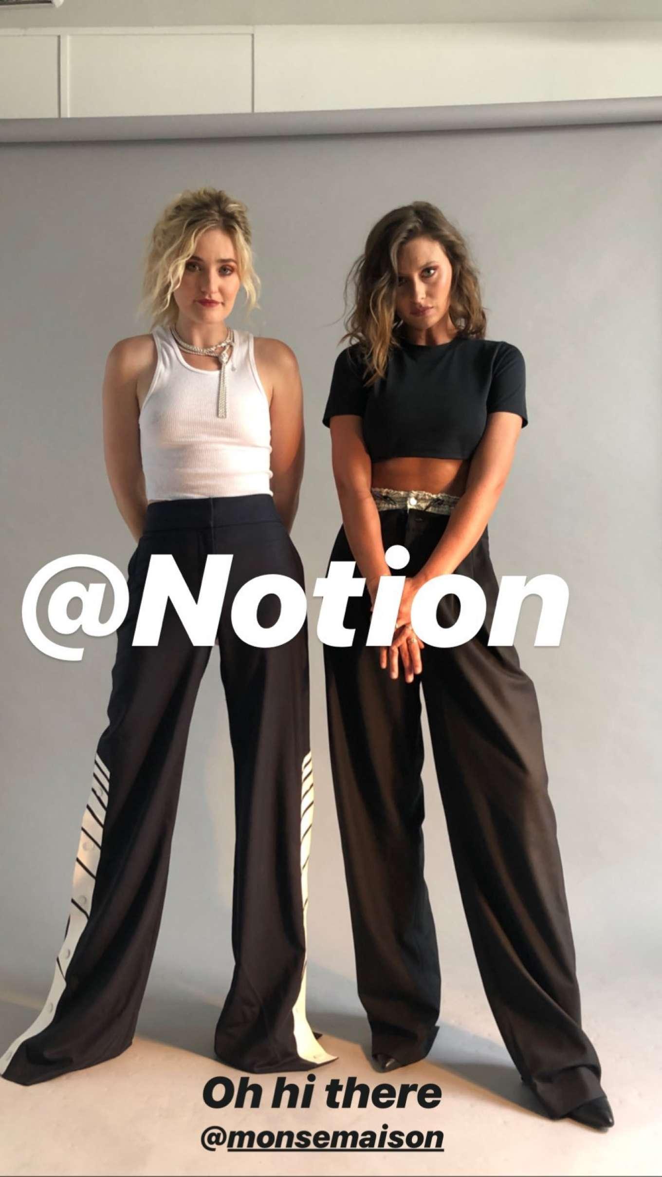 AJ Michalka 2019 : AJ and Aly Michalka – Notion Magazine 2019-03
