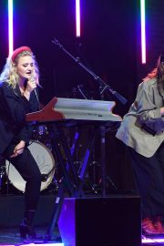 AJ and Aly Michalka - Perform a live concert at Revolution Live in Fort Lauderdale