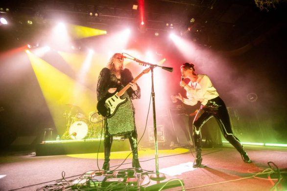 AJ and Alyson Michalka - Performs at The Fillmore in San Francisco