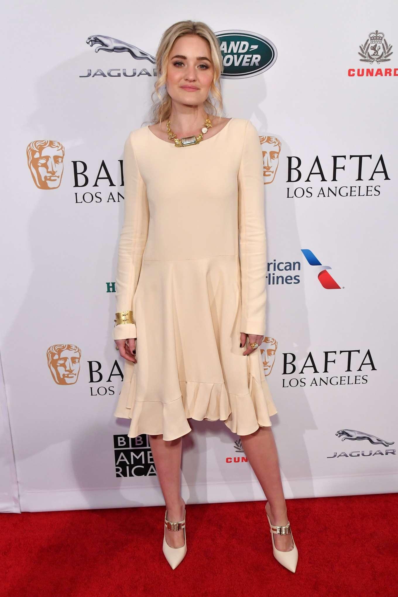 AJ Michalka 2020 : AJ Michalka – 2020 BAFTA LA Tea Party-09