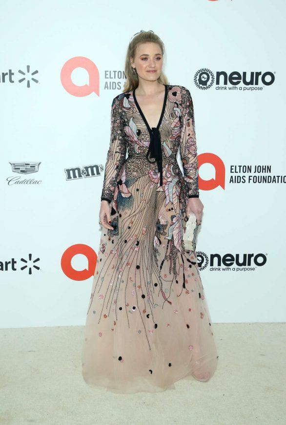 AJ Michalka - 2020 Elton John AIDS Foundation Oscar Viewing Party in LA