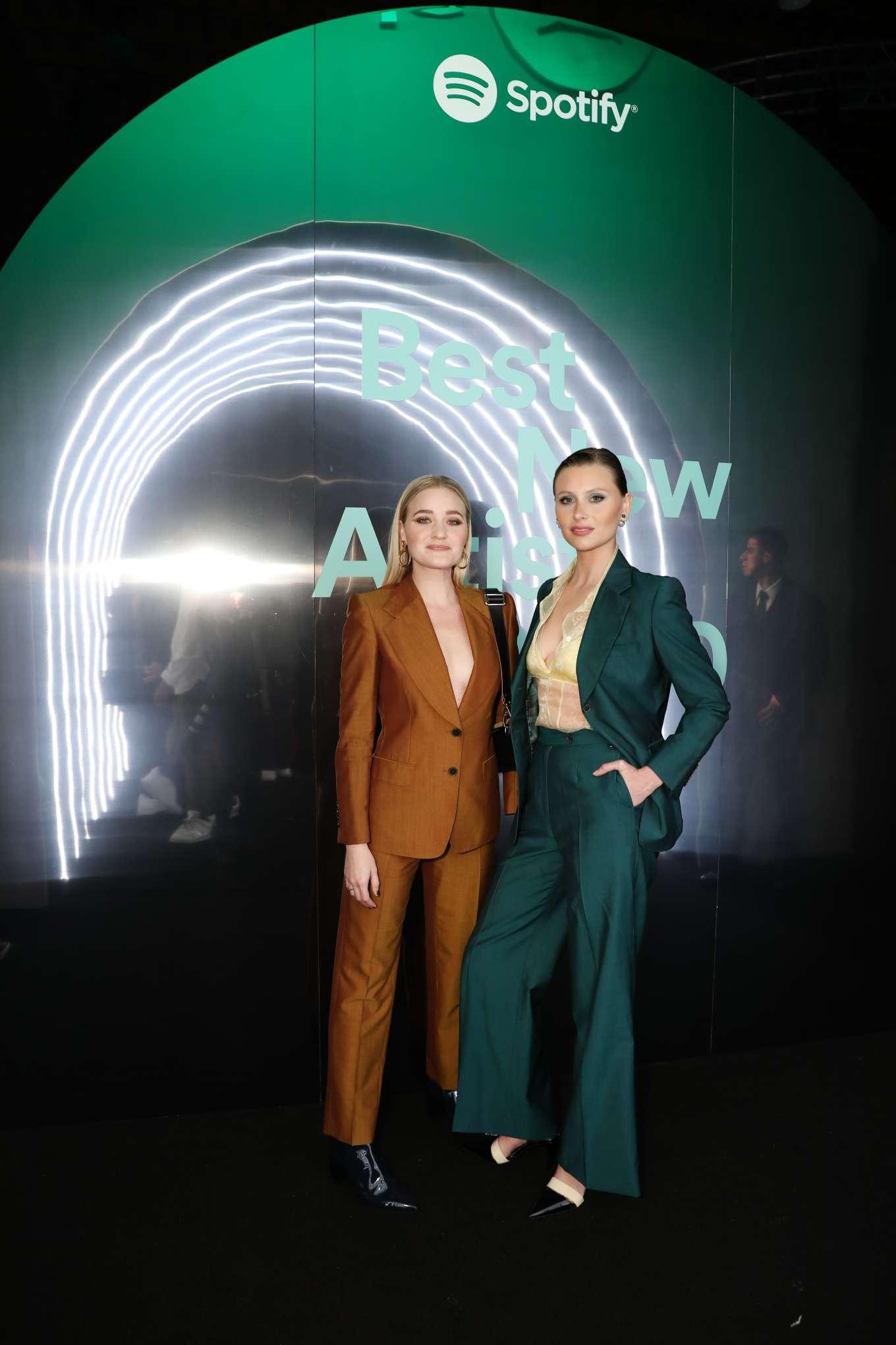 AJ Michalka 2020 : AJ Michalka and Aly Michalka – Spotify Best New Artist Party-08