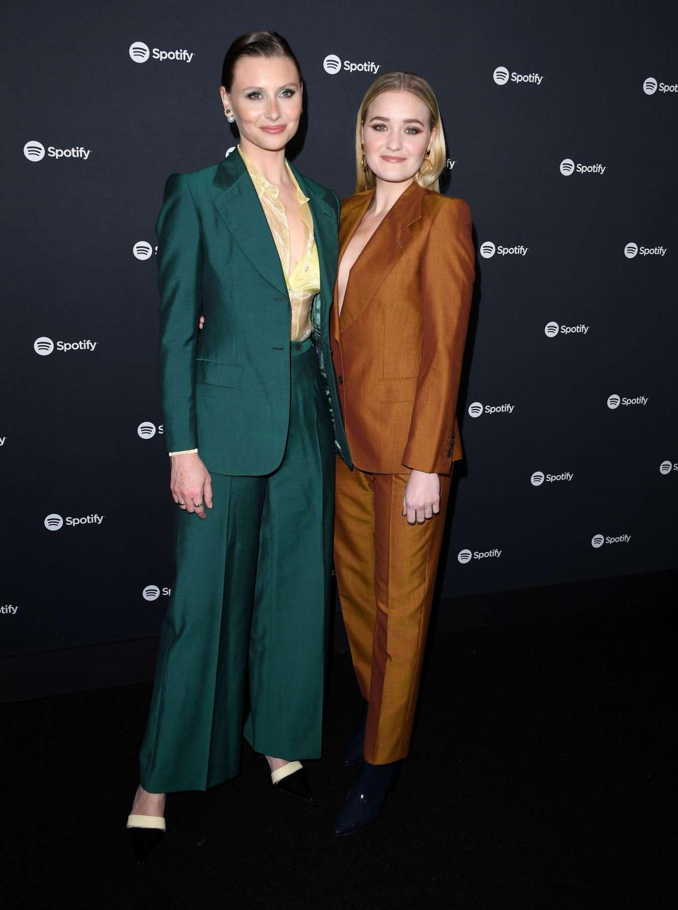 AJ Michalka 2020 : AJ Michalka and Aly Michalka – Spotify Best New Artist Party-15