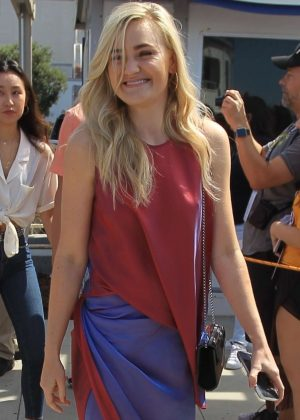 AJ Michalka at 2018 Comic Con in San Diego