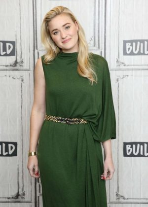 AJ Michalka at the Build Series in New York City