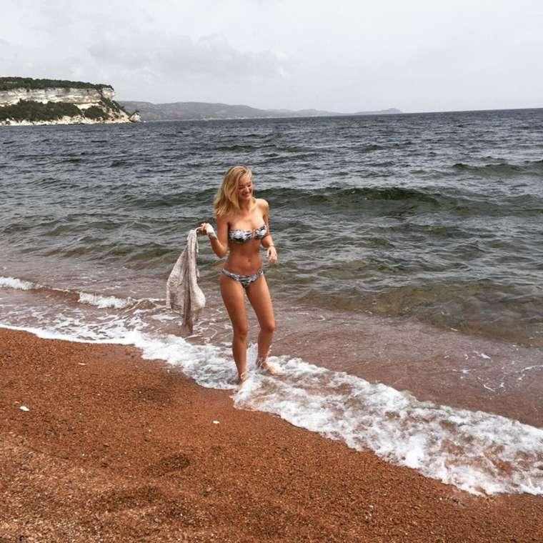 Aj michalka bikini seems magnificent