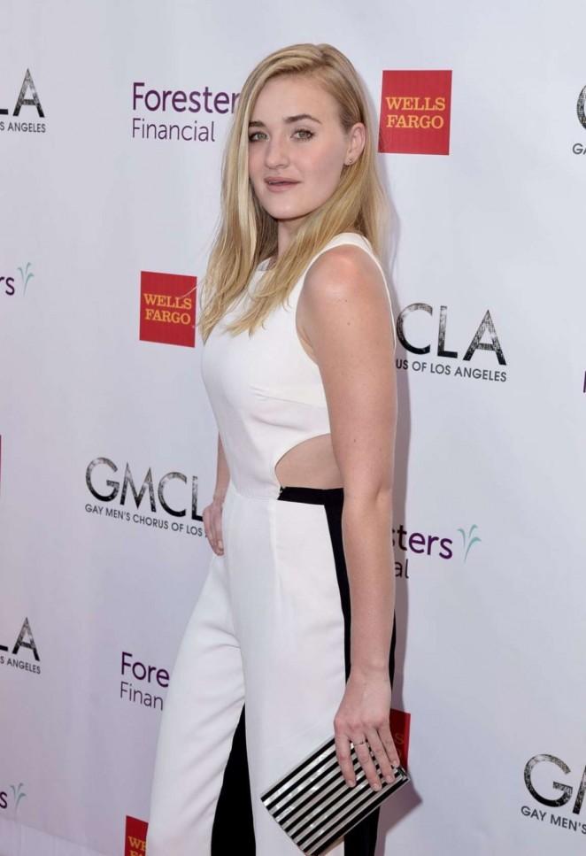 AJ Michalka - GMCLA's 5th Annual Voice Awards in Hollywood