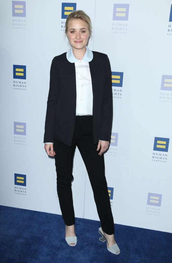AJ Michalka - Human Rights Campaign Gala Dinner 2017 in Los Angeles