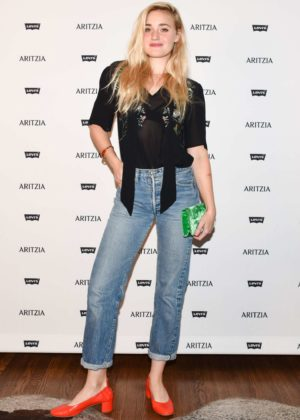 AJ Michalka - Levi's by Aritzia Collection Launch in Los Angeles