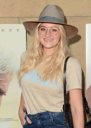 AJ Michalka - 'The Hero' Premiere in Hollywood
