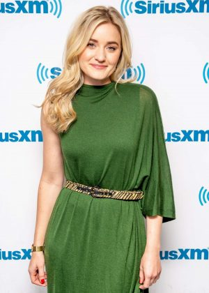 AJ Michalka - Visits SiriusXM Studios in New York City