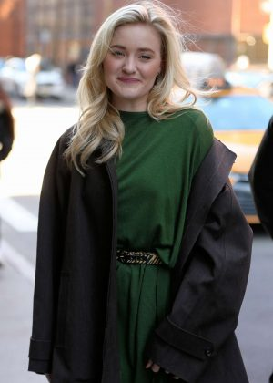 AJ Michalka - Visits the Build Series in New York City