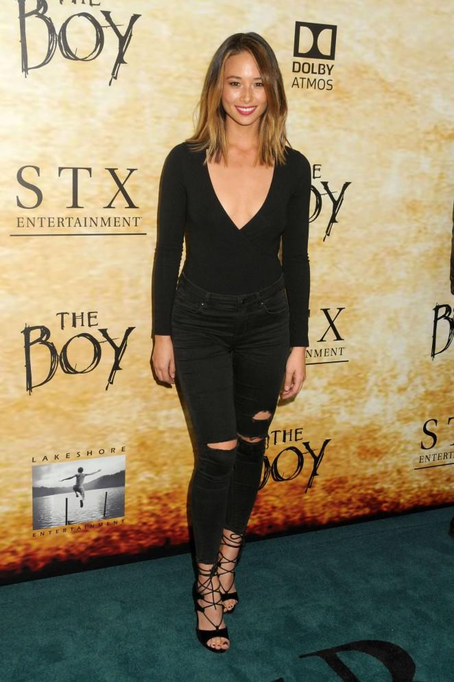 Aja Dang - 'The Boy' Premiere in Los Angeles