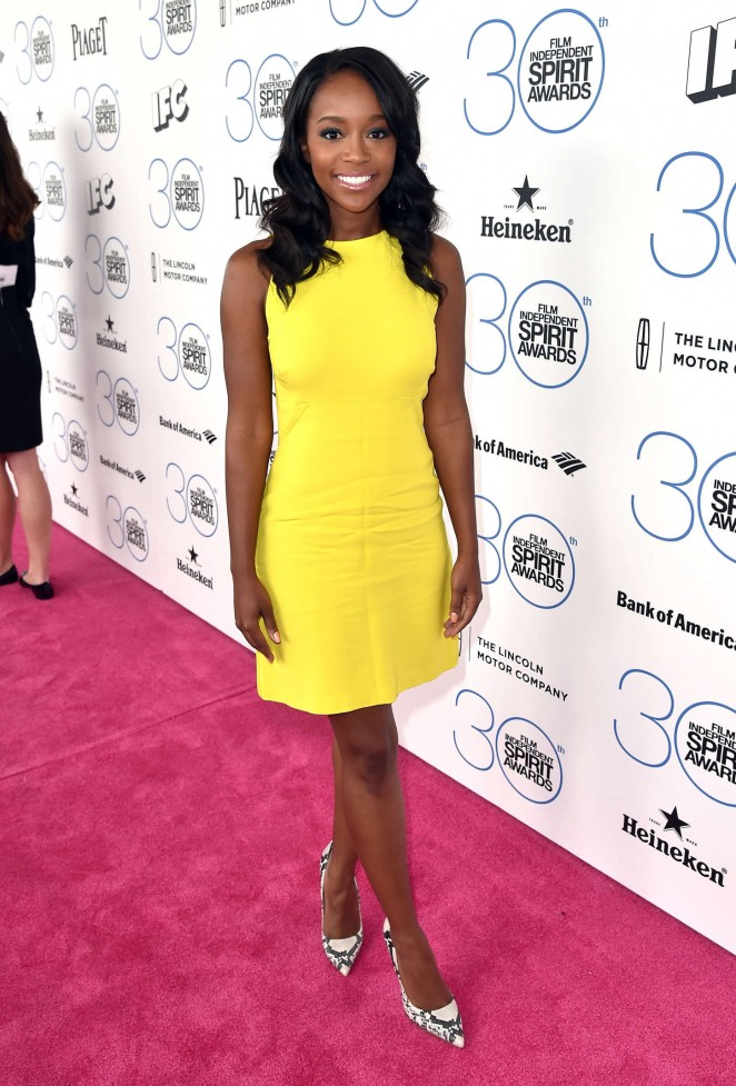 Aja Naomi King – 2015 Film Independent Spirit Awards in Santa Monica