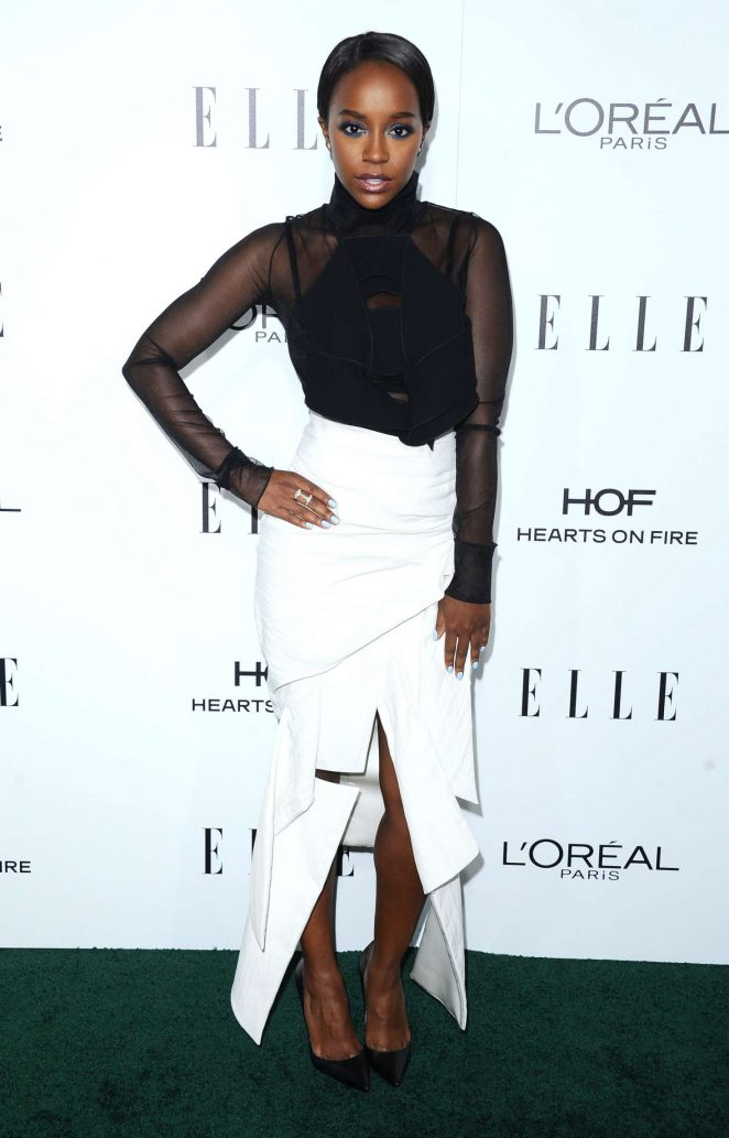 Aja Naomi King – 2016 ELLE Women in Hollywood Awards in Los Angeles