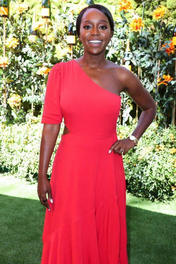Aja Naomi King - 2019 Veuve Clicquot Polo Classic in Los Angeles