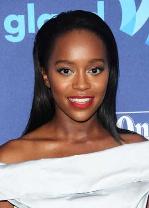 Aja Naomi King - GLAAD Media Awards 2015 in Beverly Hills