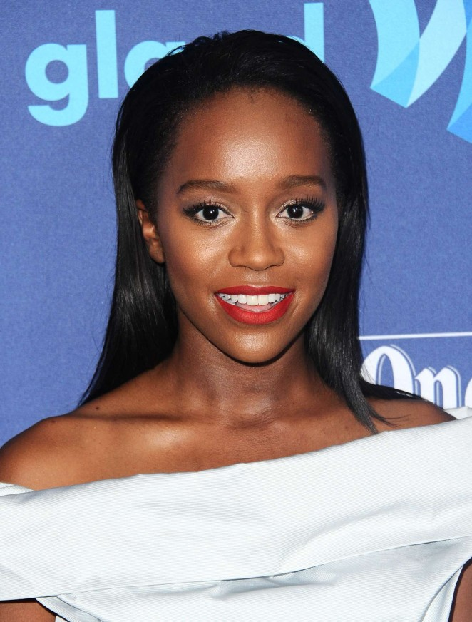 Aja Naomi King – 26th Annual GLAAD Media Awards in Beverly Hills