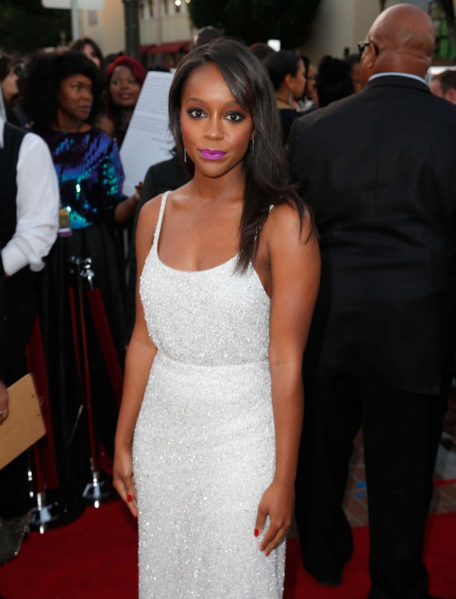 Aja Naomi King - 2015 NAACP Image Awards in Pasadena