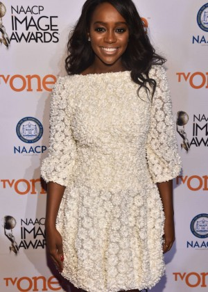 Aja Naomi King - 2015 NAACP Image Awards Non-Televised Awards Ceremony in Pasadena