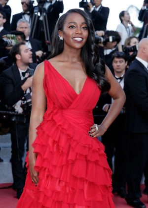 Aja Naomi King - 'Ash Is The Purest White' Premiere at 2018 Cannes Film Festival