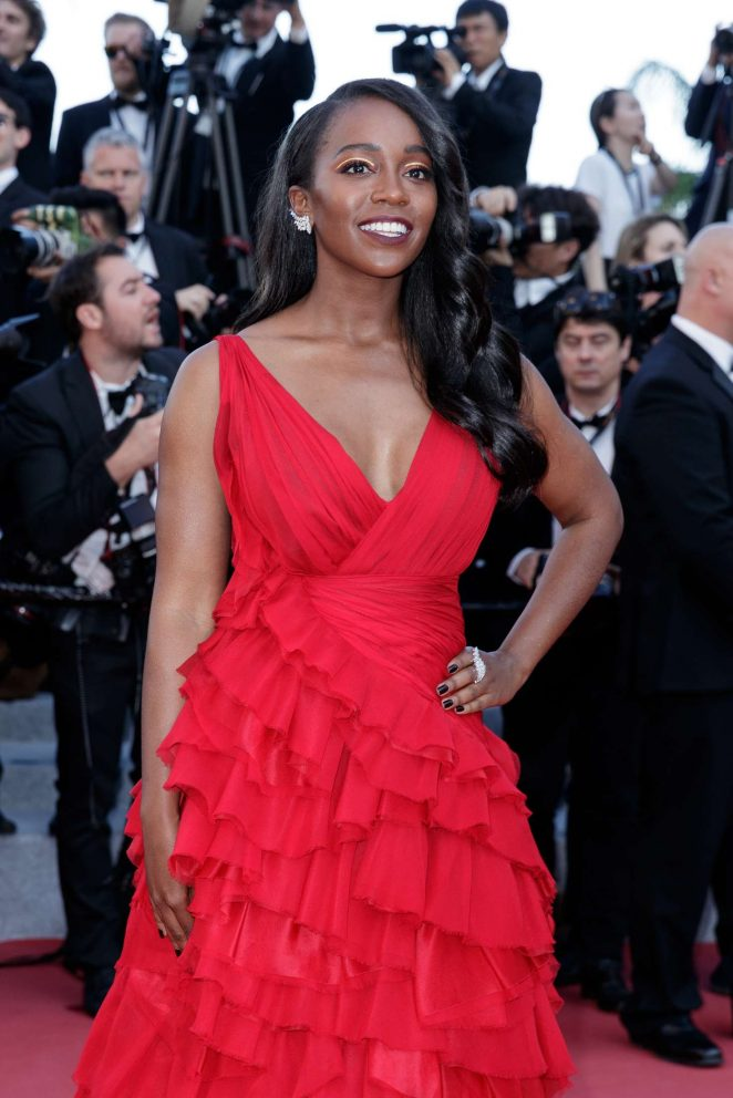 Aja Naomi King – 'Ash Is The Purest White' Premiere at 2018 Cannes Film Festival