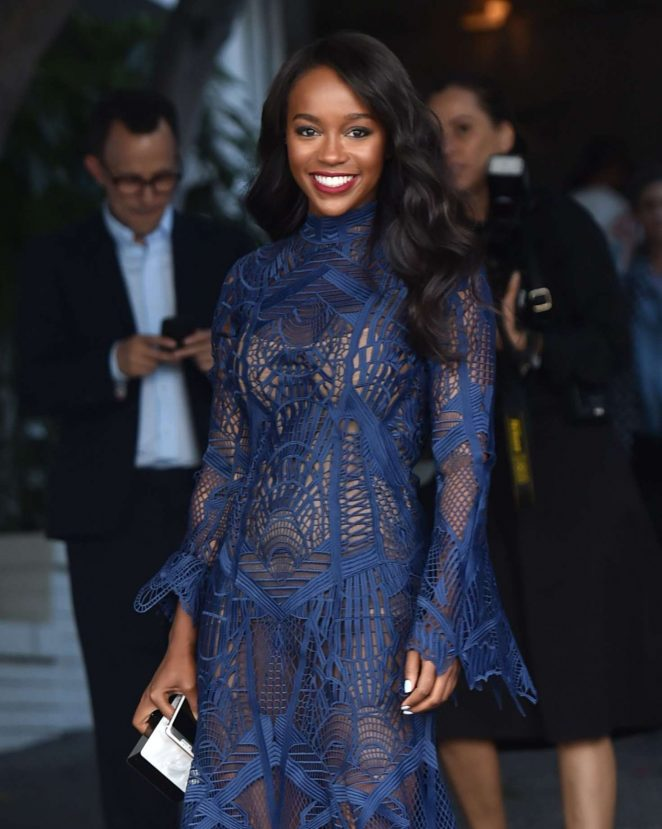 Aja Naomi King - CFDA Vogue Fashion Party in West Hollywood