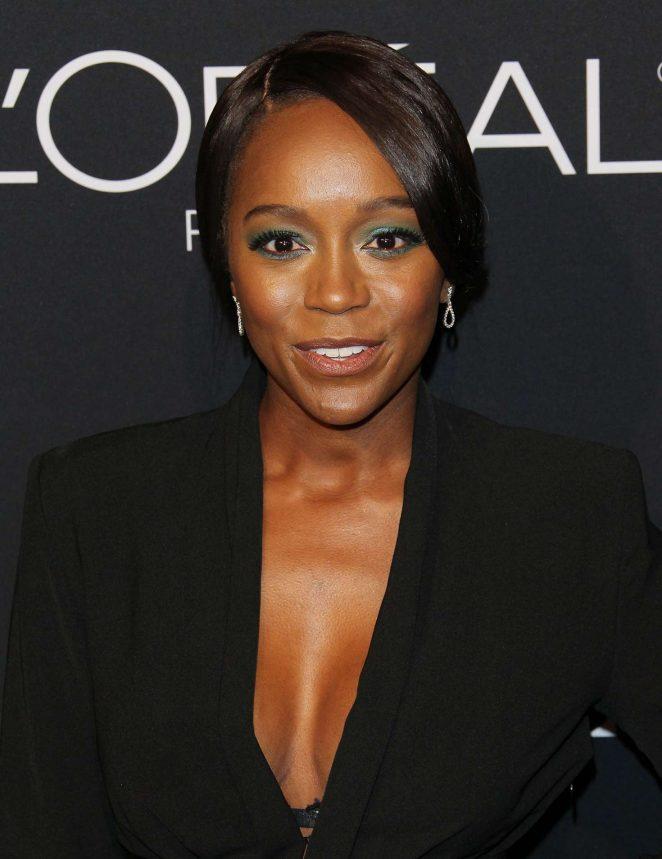 Aja Naomi King - ELLE's 25th Women in Hollywood Celebration in LA