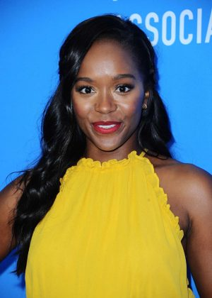 Aja Naomi King - Hollywood Foreign Press Association's Grants Banquet in Beverly Hills