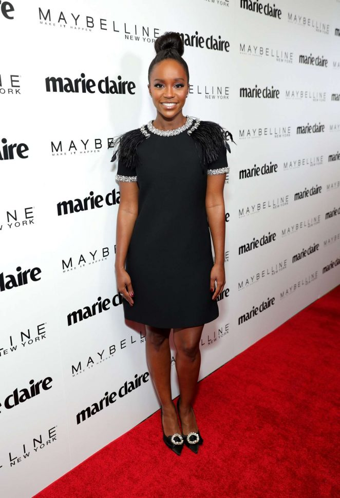 Aja Naomi King – Marie Claire Celebrates 'Fresh Faces' Event in LA