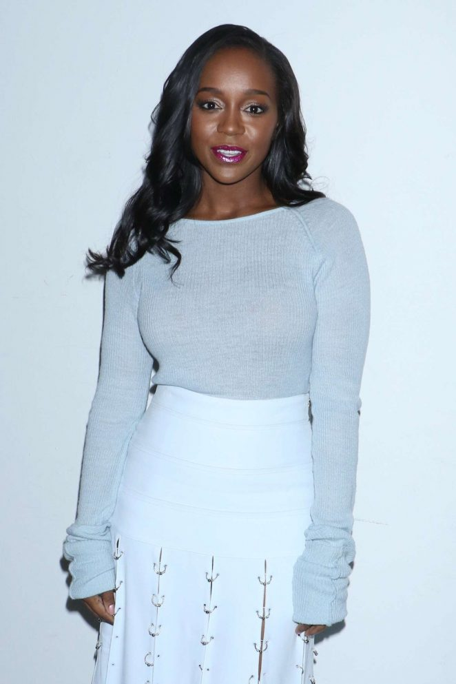 Aja Naomi King – Prabal Gurung Show at 2017 NYFW in New York