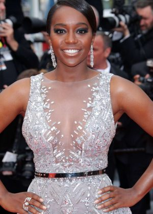Aja Naomi King - 'Sorry Angel' Premiere at 2018 Cannes Film Festival