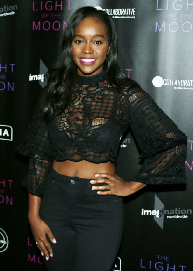 Aja Naomi King - 'The Light of the Moon' Premiere in Los Angeles