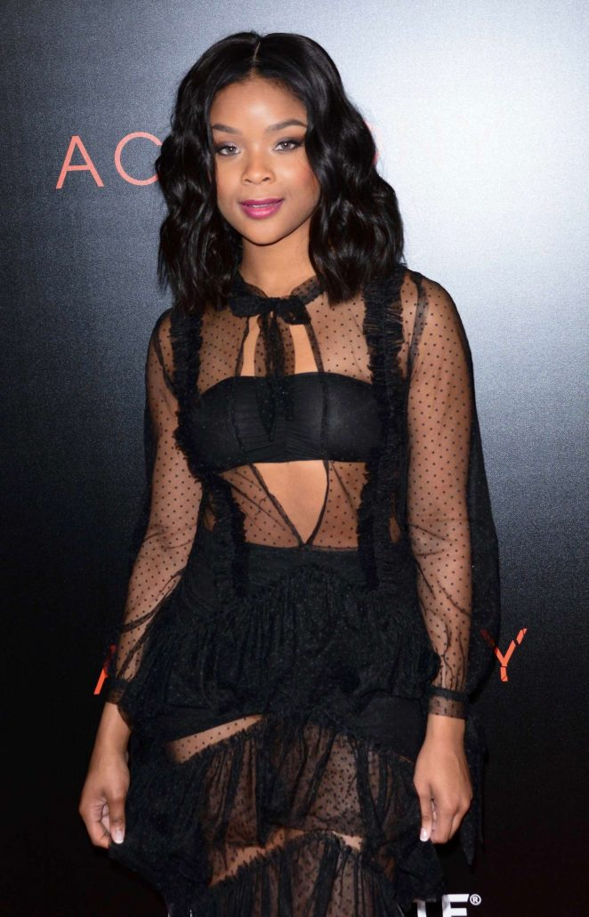 Ajiona Alexus - 'Acrimony' Premiere in New York