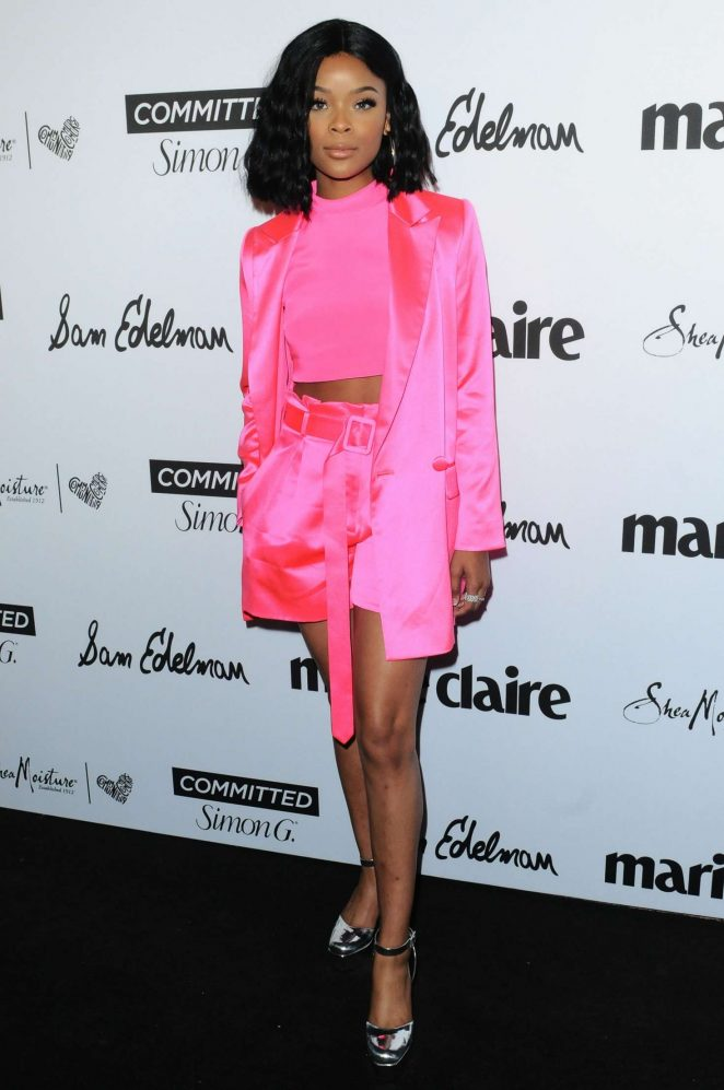 Ajiona Alexus - Marie Claire's 5th annual 'Fresh Faces' in Los Angeles