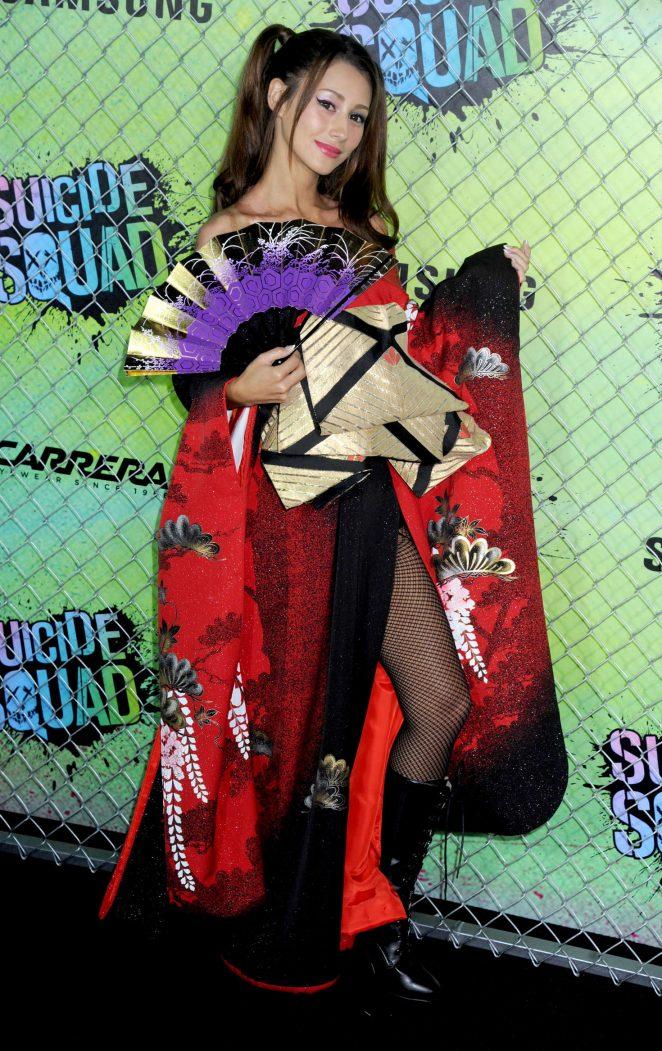 Akemi Darenogare - 'Suicide Squad' Premiere in New York