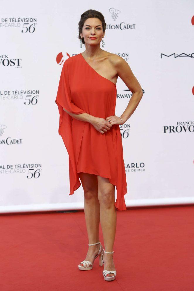 Alana De La Garza - 56th Monte-Carlo Television Festival in Monte Carlo