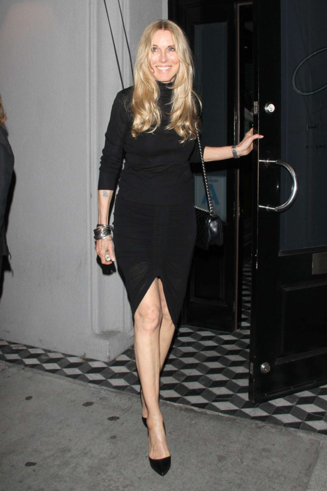 Alana Stewart at Craig's restaurant in West Hollywood