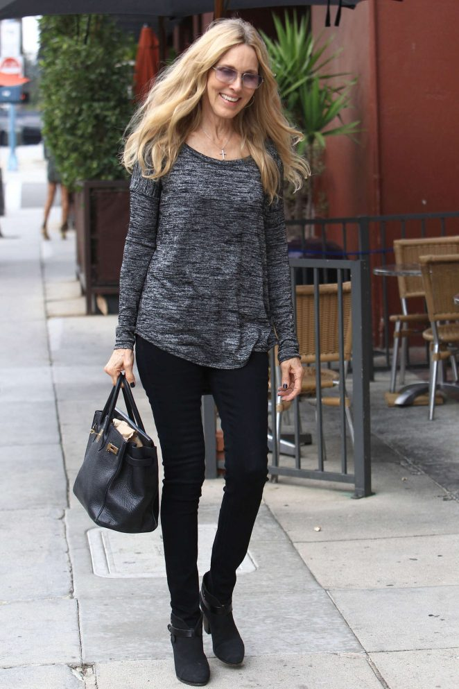 Alana Stewart Shopping in Beverly Hills