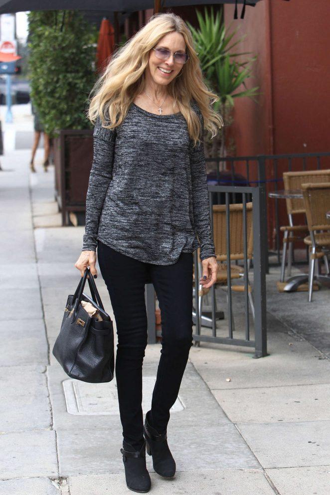 Alana Stewart Shopping in Beverly Hills