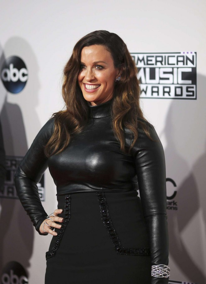 Alanis Morissette - 2015 American Music Awards in Los Angeles