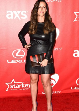Alanis Morissette: 2015 MusiCares Person Of The Year Gala -02