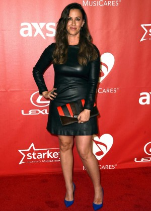Alanis Morissette - 2015 MusiCares Person Of The Year Gala Honoring Bob Dylan in LA