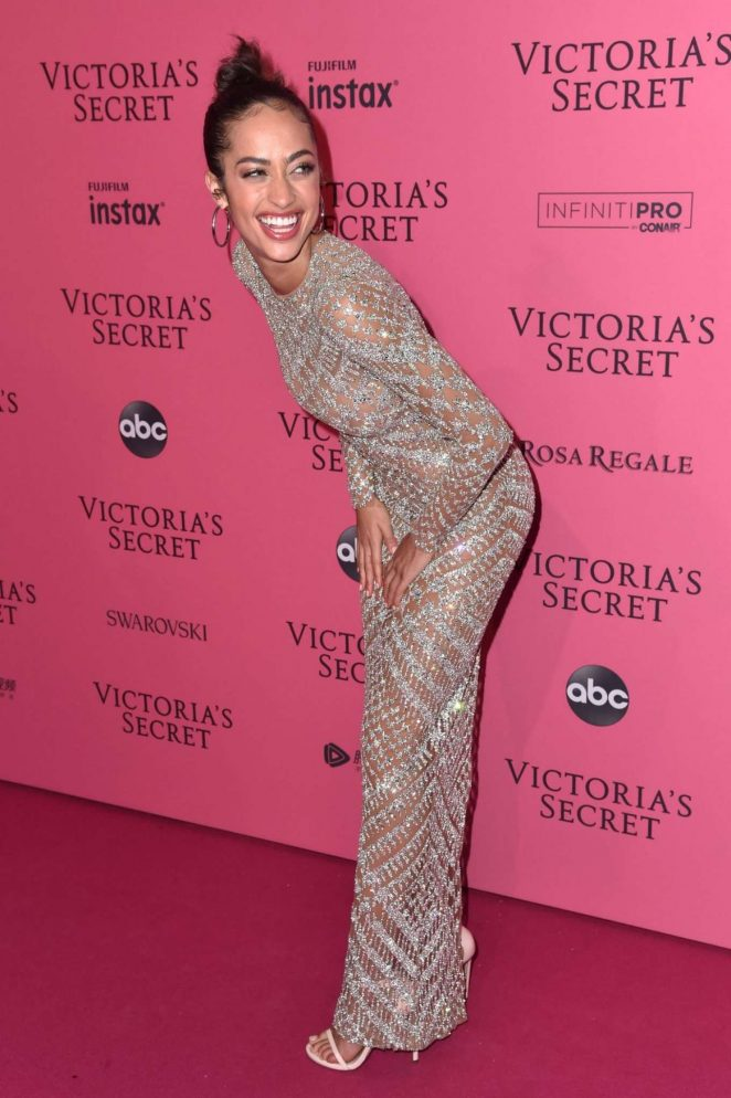 Alanna Arrington - 2018 Victoria's Secret Fashion Show After Party in NY