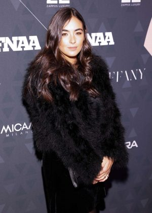 Alanna Masterson - Footwear News Achievement Awards in NYC