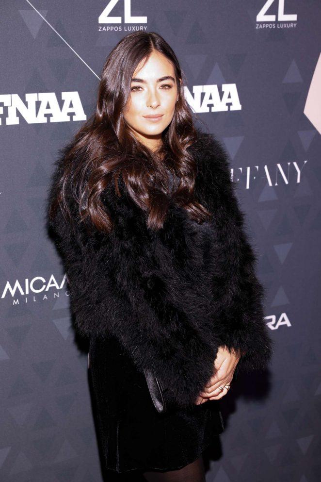 Alanna Masterson – Footwear News Achievement Awards in NYC