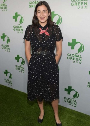 Alanna Masterson - Global Green USA 2015 Pre-Oscar Party in LA